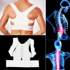 Magnetic Back Pain Posture Support Brace - l