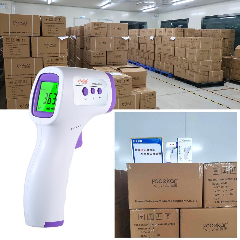 Infrared Digital Temperature Thermometer Only Scientific Termômetro infravermelho yobekan, utilizado para o controle de temperatura em procedimentos gerais sem contato com o paciente. infrared digital temperature thermometer