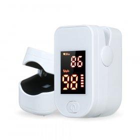 Finger Pulse Blood Oxygen Monitor Oximeter - random
